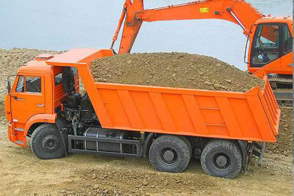 Доставка песка Москва